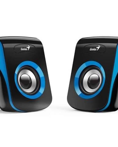 Reproduktory Genius SP-Q180 čierne/modré