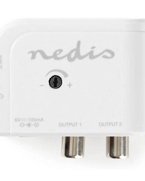 Nedis Zosilňovač Nedis Catv, Max. zesílení 15 dB, 50–790 MHz, 2 Výstupy,
