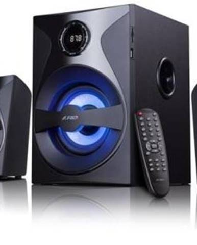 Reproduktory Fenda F&D F3800X 5.1, bluetooth, rádio, USB, SD,