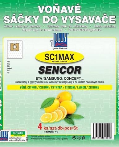 Sáčky pre vysávače Jolly MAX SC 1 lemon perfume