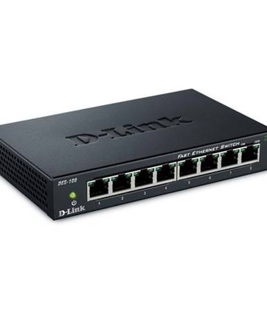 Switch D-Link DES-108  8 port, 10/100 Mb/s