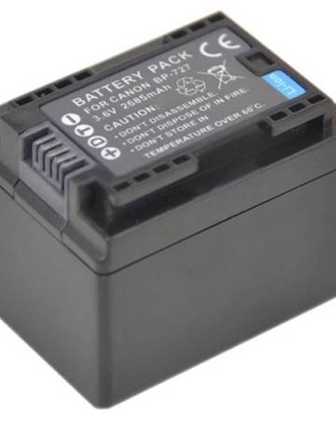 Avacom Batéria Avacom Canon BP727, Li-Ion 3.6V 2400mAh 8.6Wh