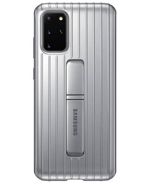 Samsung Kryt na mobil Samsung Standing Cover na Galaxy S20+ strieborný