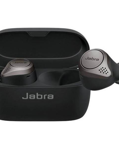 Jabra Slúchadlá Jabra Elite 75t čierna/Titanium