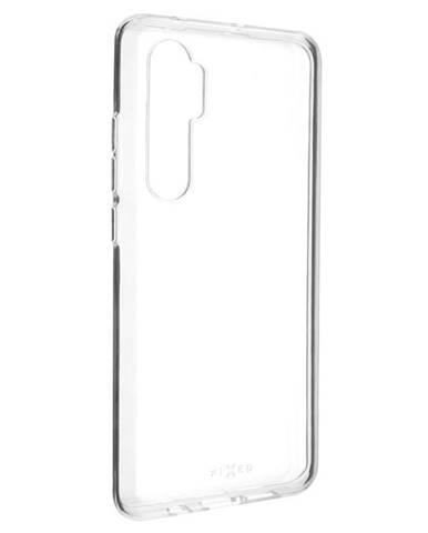 Kryt na mobil Fixed na Xiaomi Mi Note 10 Lite priehľadný