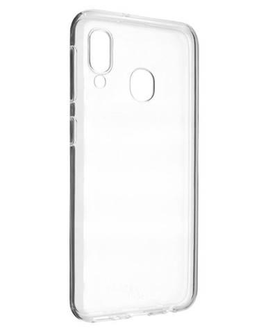Kryt na mobil Fixed Skin na Samsung Galaxy A20e priehľadný