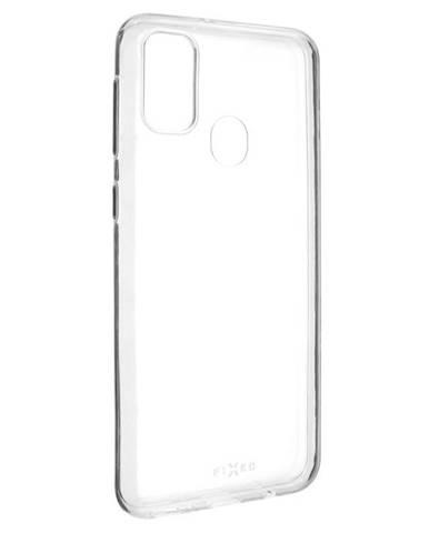 Kryt na mobil Fixed Skin na Samsung Galaxy M21 priehľadný
