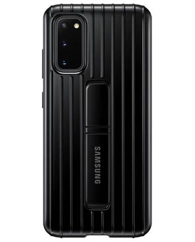 Kryt na mobil Samsung Standing Cover na Galaxy S20 čierny