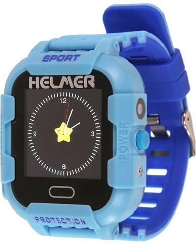 Inteligentné hodinky Helmer LK 708 dětské s GPS lokátorem modrý