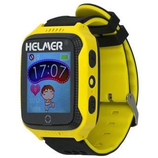 Inteligentné hodinky Helmer LK 707 dětské s GPS lokátorem žltý