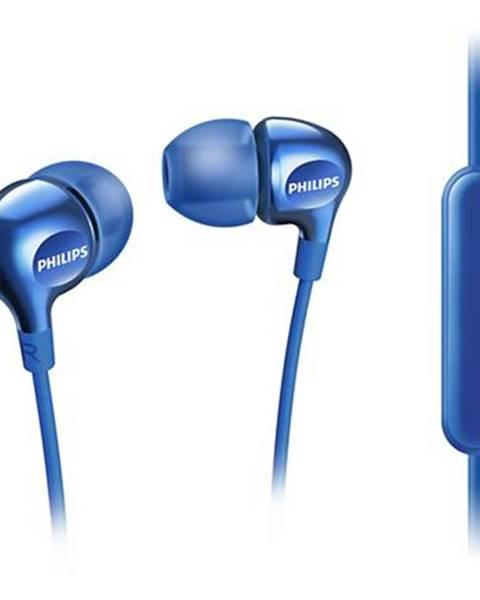 Philips Slúchadlá Philips SHE3555 modrá