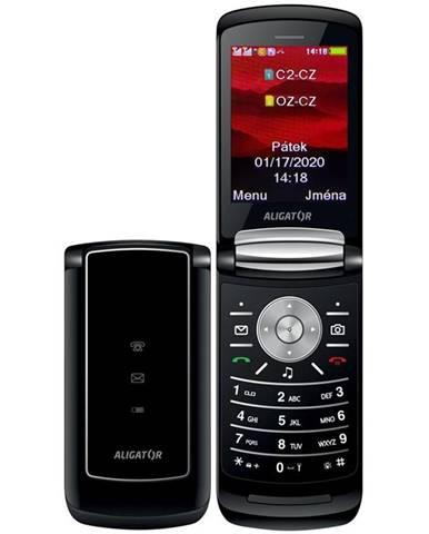 Mobilný telefón Aligator DV800 Dual SIM čierny