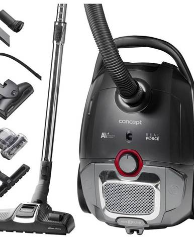 Podlahový vysávač Concept Real Force VP8290 čierny