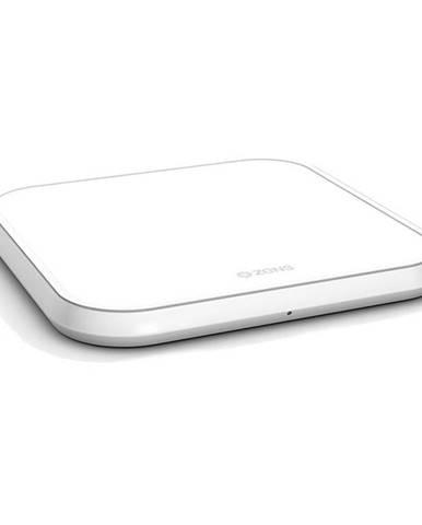 Bezdrôtová nabíjačka Zens Aluminium Single 10W biela