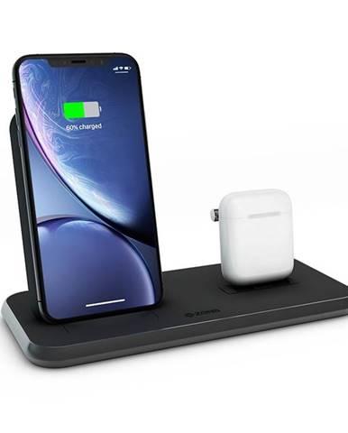 Bezdrôtová nabíjačka Zens Stand + Dock čierna