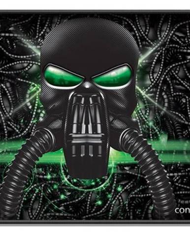Podložka pod myš  Connect IT Battle Rnbw malá, 32 x 26 cm čierna