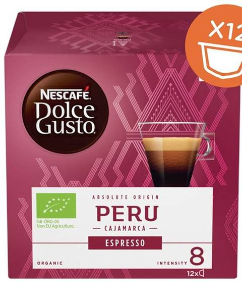 Nescafé NescafÉ Dolce Gusto® Peru Cajamarca Espresso kávové kapsule 12 ks