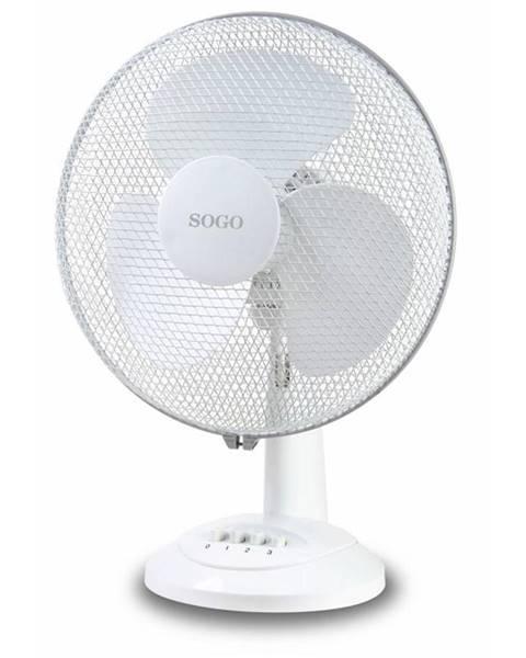 SOGO Ventilátor stolový Sogo SS-21410 biely