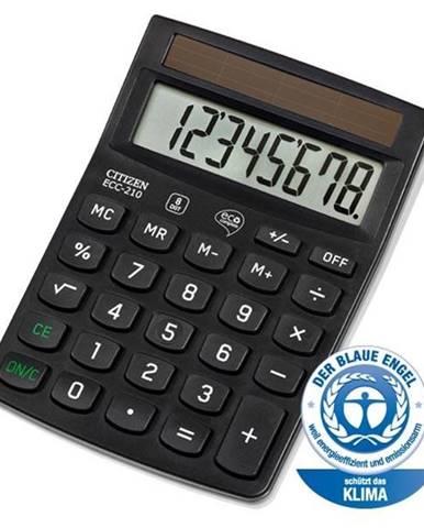 Kalkulačka Citizen ECC-210 čierna