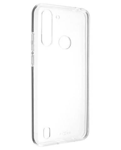 Kryt na mobil Fixed na Motorola Moto G8 Power Lite priehľadný