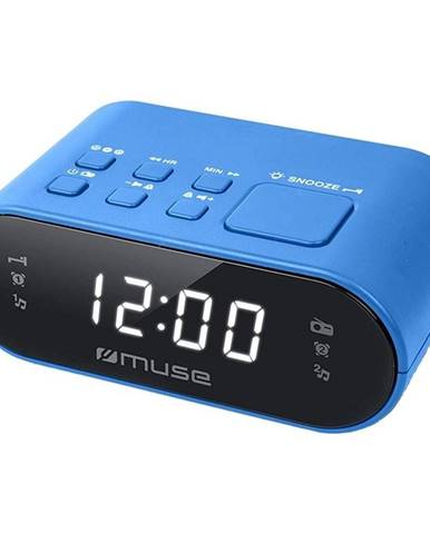 Rádiobudík MM-10 modr