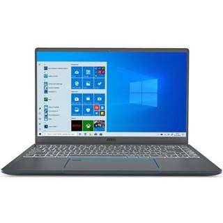 Notebook MSI Prestige 14 A10SC sivý