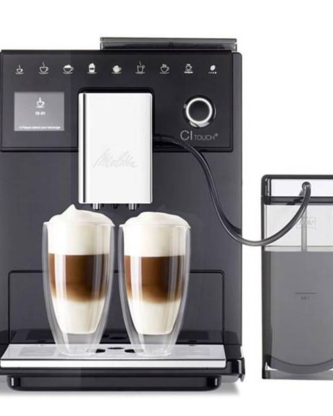 Melitta Espresso Melitta CI Touch Černé čierne