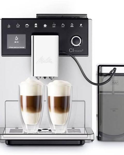 Melitta Espresso Melitta CI Touch Stříbrné strieborn