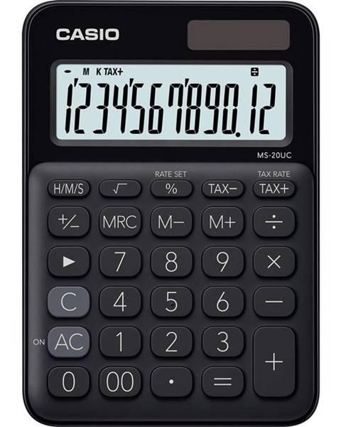 Casio Kalkulačka Casio MS 20 UC BK čierna