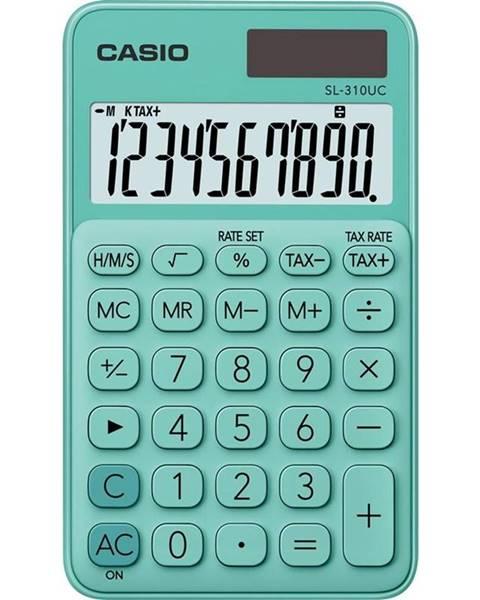 Casio Kalkulačka Casio SL 310 UC GN zelen