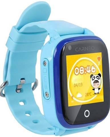 Inteligentné hodinky Carneo GuardKid+ 4G modré