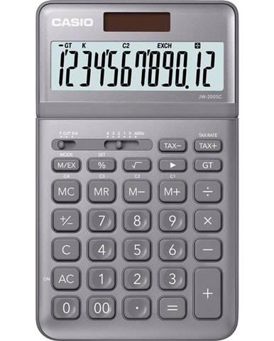 Kalkulačka Casio JW 200 SC GY siv