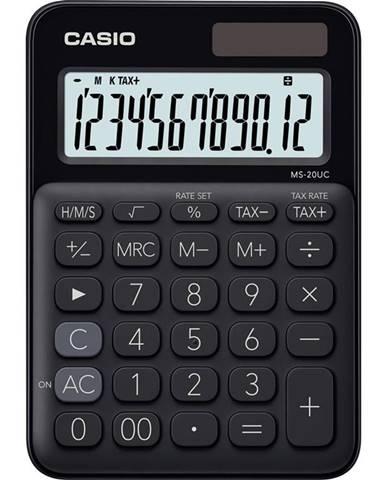 Kalkulačka Casio MS 20 UC BK čierna