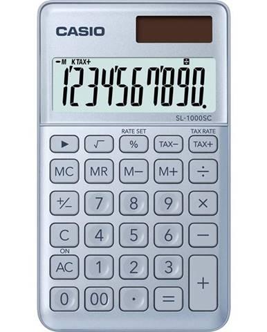 Kalkulačka Casio SL 1000 SC BU - světle modr