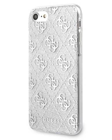 Kryt na mobil Guess Glitter 4G Peony na Apple iPhone 8/SE