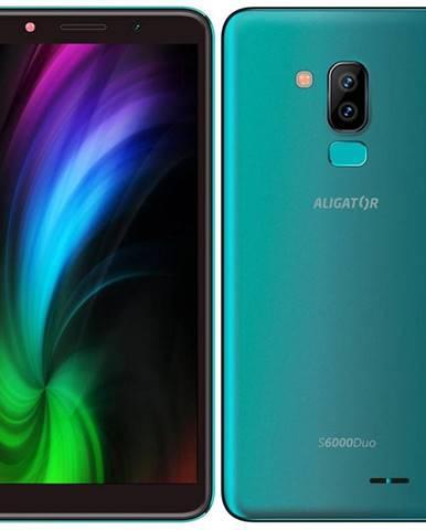 Mobilný telefón Aligator S6000 Dual SIM zelený