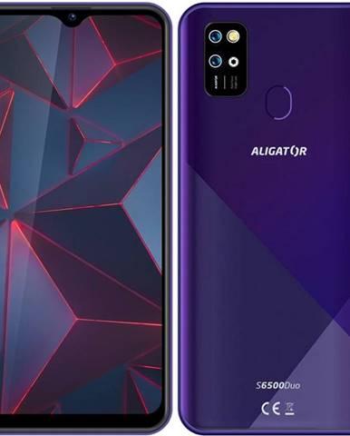 Mobilný telefón Aligator S6500 fialový