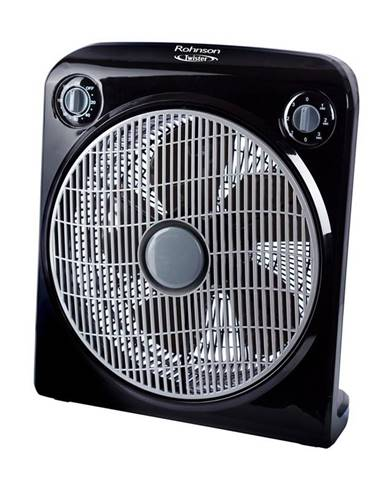 Ventilátor podlahový Rohnson R-8200 Twister čierny