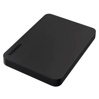 Externý pevný disk Toshiba Canvio Basic 1TB čierny