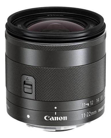 Objektív Canon EF-M 11-22 mm f/4-5.6 IS   čierny