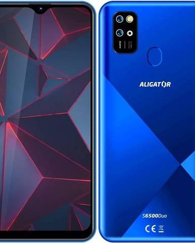 Mobilný telefón Aligator S6500 modrý