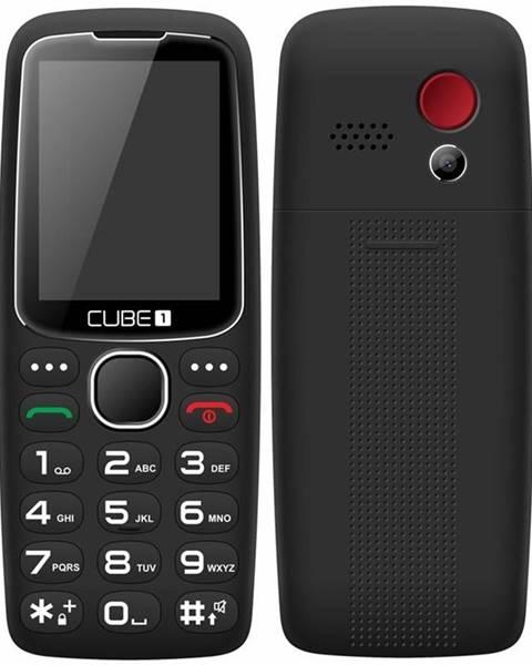 CUBE 1 Mobilný telefón Cube 1 S300 Senior čierny