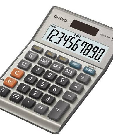 Kalkulačka Casio MS 100 B  siv