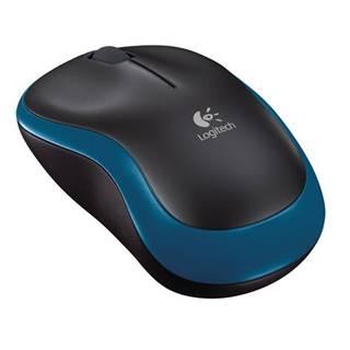 Myš  Logitech Wireless MoM185 modrá / optická / 2 tlačítka /