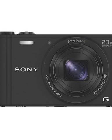 Digitálny fotoaparát Sony Cyber-shot DSC-WX350 čierny
