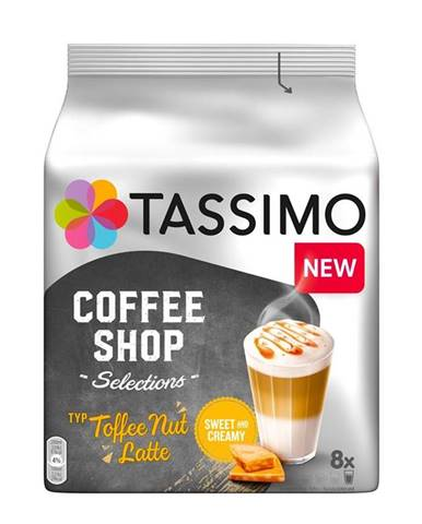 Kapsule pre espressa Tassimo Toffee Nut Latte 268g