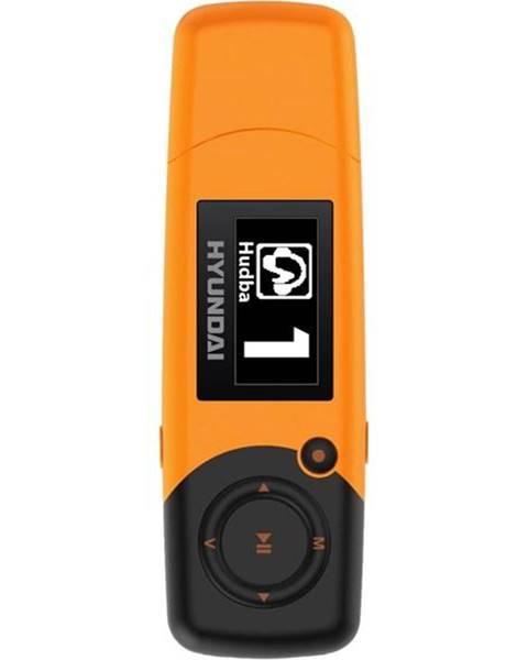Hyundai MP3 prehrávač Hyundai MP 366 GB8 FM O oranžov