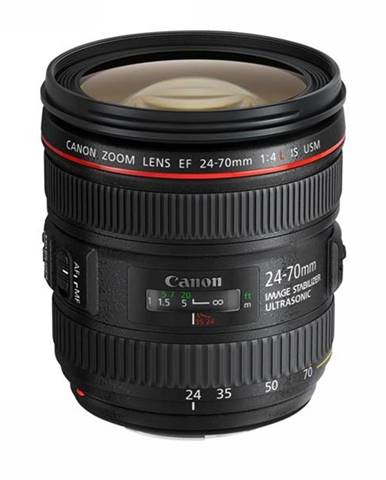 Objektív Canon EF 24-70mm f / 4L IS USM