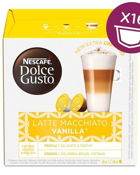 Nescafé NescafÉ Dolce Gusto® Latté Macchiato Vanilla kávové kapsle 16 ks