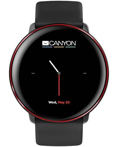 Inteligentné hodinky Canyon Marzipan čierny
